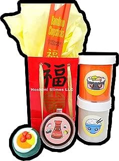 Chinese Sushi Take Out DIY Slime Kit -Hoshimi Slimes