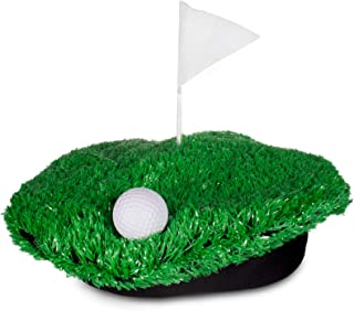 Hole-In-One Golf Green Turf Beret Hat