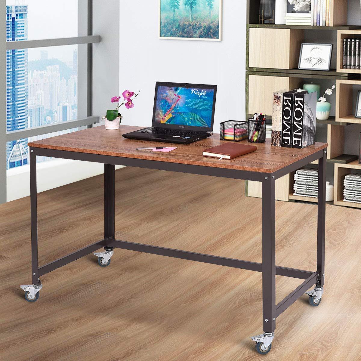 desk on wheels amazon com rh amazon com desk with wheels nz desk with wheels computer