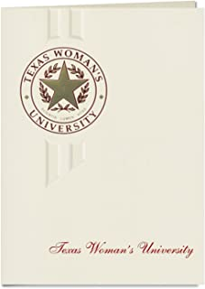 Signature Announcements Texas Woman's University Graduation Announcements, Elegant style, Elite Pack 20 with Texas Womans ...