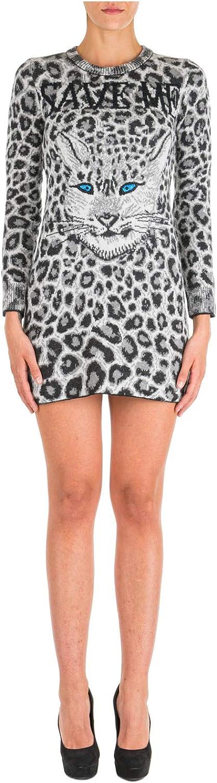 Alberta ferretti love me wild,abito, vestito corto per donna con maniche lunghe,100% lana J049351071516
