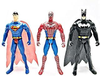 3 pcs Super Hero Action Figure Set For Kids