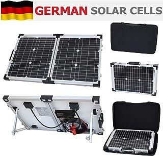 Photonic Universe Solar Ladekit, klappbar, für Reisemobil/Caravan/Wohnmobil/Auto/Van/Boot/Yacht, ideal für Camping/Reisen mit Wohnmobil/Rallyes/Messen/mobile Büros oder andere 12 Volt Systeme, 40Watt, 12Volt