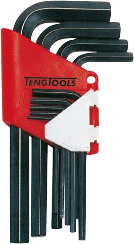 Teng Super intense SALE Tools 9 Piece Black Metric W Allen Hex Direct stock discount Industrial Grade Key