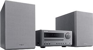Denon D-T1 - Microcadena con Lector CD y Bluetooth, Color Gris