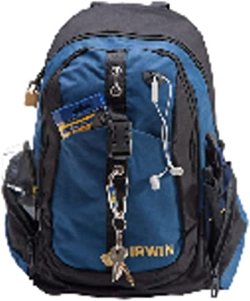 "Irwin 1868158, Mochila para Ferramentas 14"", Preto e Azul"