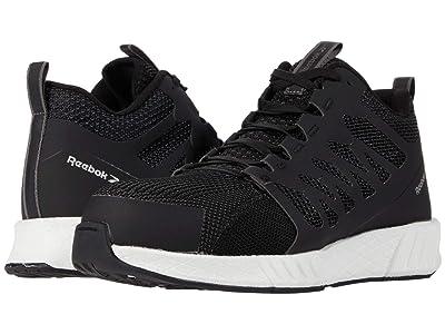 Reebok Work Fusion Flexweavetm Work Composite Toe (Black/White) Men