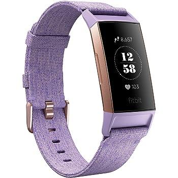 Fitbit Charge3 フィットネストラッカー Lavender Woven/Rose Gold L/Sサイズ スペシャルエディション [日本正規品] FB410RGLV-CJK