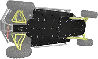 """SuperATV Heavy Duty 1/2"""" ARMW Full Skid Plate for Polaris RZR XP 4 1000 (2016+) - Full Front to Back Protection!"""