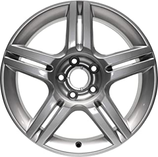 Partsynergy Replacement For New Replica Aluminum Alloy Wheel Rim 17 Inch Fits 05-11 Audi A4 5-108mm 10 Spokes