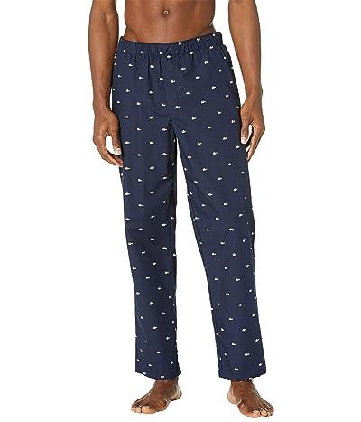 Lacoste All Over Print Croc Pajama Pants