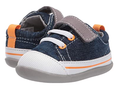 See Kai Run Kids Stevie II (Infant/Toddler) (Washed Denim) Boy