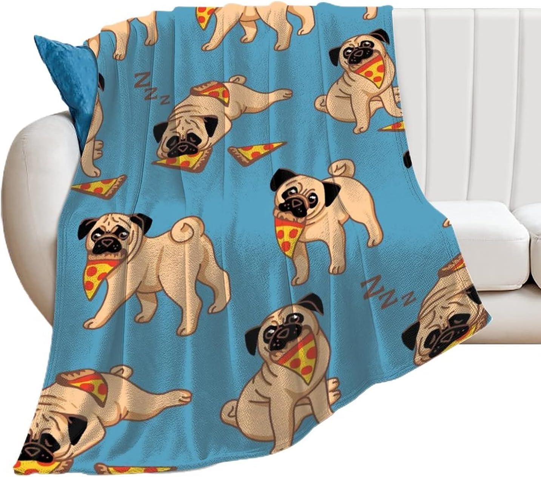 Certain Max 80% OFF Goods EFOEKY Pug Ultra Soft for Adul Kids Blanket Fleece Trust