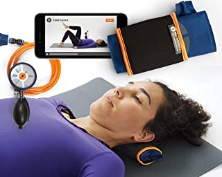Sale! Neck Strength and Stability Trainer for Neck Pain Relief+ Video Training + Carry Bag. Plus Free CORECOACH Pressure Biofeedback Stabilizer.