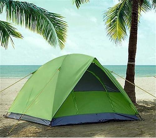 Kaxima Tente de camping plein air colle double anti-pluie