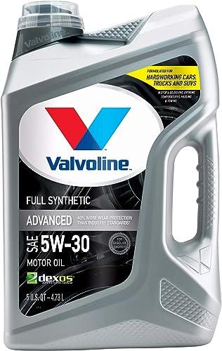 Valvoline - 881164 Advanced Full Synthetic SAE 5W-30 Motor Oil 5 QT