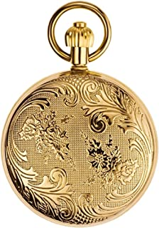 AI LI WEI Copper, Secret Garden, Automatic Mechanical Watch Men and Women Retro flip Century Old Antique Tables.