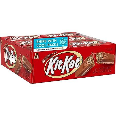 Kit Kat Milk Chocolate Candy Bar, 1.5 Oz Bars (Pack of 36)
