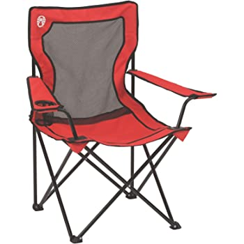 Desconocido Coleman Camping Broadband Quad Chair with Mesh Back and Seat