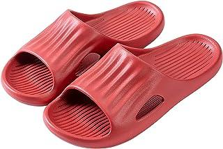 DAIFINEY Badschoenen voor dames, pantoffels, uniseks, badkamer, fitnessruimte, indoor, zachte zool, antislip, sneldrogend