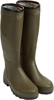 Le Chameau Men's Country XL Jersey Lined Boots