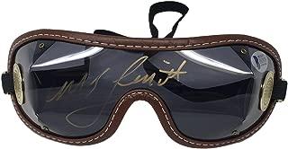 Justify Jockey Mike Smith Signed Horse Racing Goggles BAS