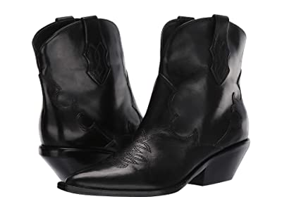 Sigerson Morrison Taima (Black Leather) Women