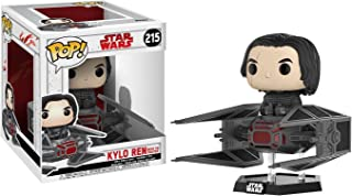 Funko TIE Fighter Kylo Ren POP! x Star Wars - The Last Jedi Vinyl Figure + 1 Official Star Wars Trading Card Bundle (20154)