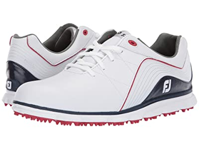 FootJoy Pro SL Spikeless (White/Navy/Red) Men