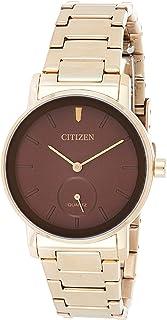 CITIZEN Womens Quartz Watch, Analog Display and Stainless Steel Strap - EQ9063-55X
