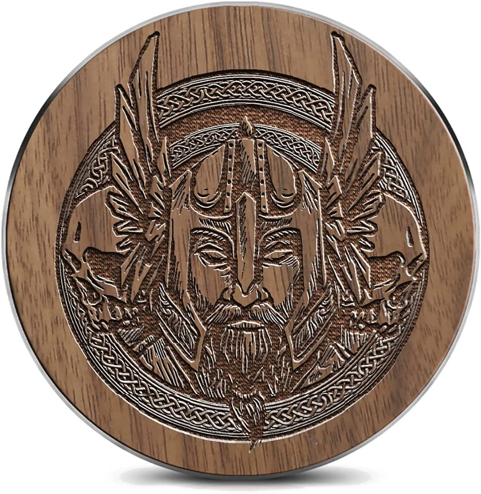 Wooden Large special price !! Wireless charger15W Nordic Qi-Certified Symbols or Ranking TOP6 Celtic