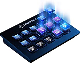 Elgato Stream Deck–Custom A 15Pack of LCD Key with Live Content Create Controller (Authorized...
