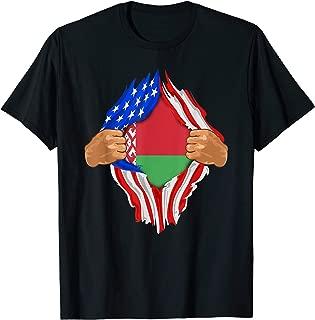 Belarusian Blood Inside Me | Belarus Flag Gift T-Shirt