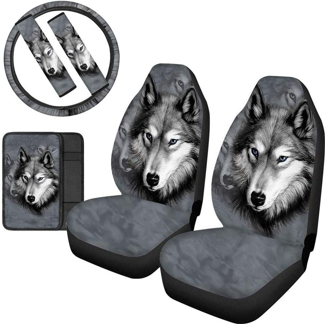 Upetstory Seat Covers Finally popular brand for Cars Front Steering Wheel Popular standard Seats Cool C