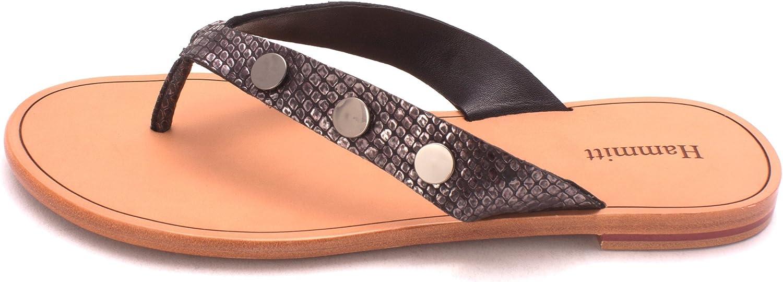Hammitt Womens Winston Leather Open Toe Casual