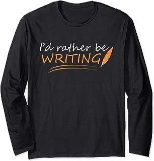 Funny Writer Phrase