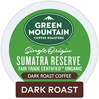 Green Mountain Coffee Roasters Sumatra Reserve, Single-Serve Keurig K-Cup Pods, Dark..