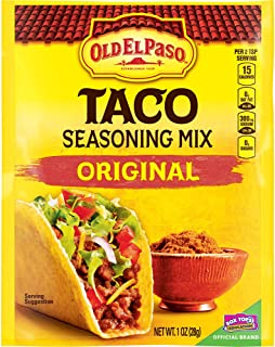 Old El Paso Taco Original Seasoning Mix 1 oz Packet