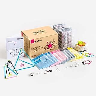 Strawbees Coding & Robotics Kit STEM Building and Programming School Kit, 1630 Pieces