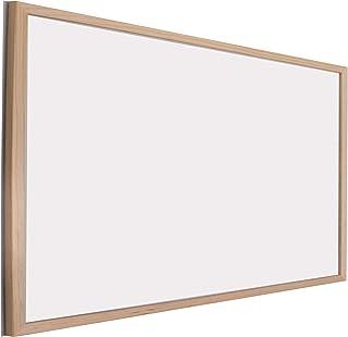 Chely Intermarket Pizarra blanca 90x60 cm esmaltada con marco de madera, no magnetica. Tablero ideal para la pared oficinas, ligero y portatil.(551-90x60-2,70)