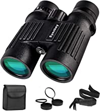 Eyeskey 10X42 Fully Waterproof Binoculars for Adults Compact | Wide Field of View | HD Bright Clear Night Vision Binocular for Hunting Wildlife Watching Hiking Game Events