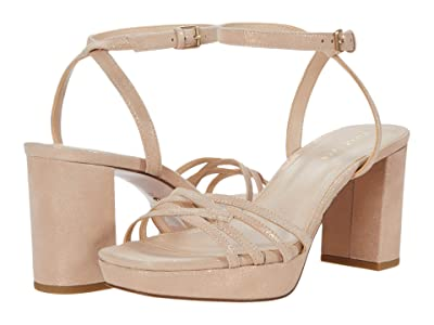 Pelle Moda Amy (Rose Gold Shimmer Suede) Women