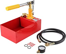 FIXKIT Bomba de Prueba de Preción 40 Bar Bomba de Agua de Prueba de preción Presión Valor 0-5mpa de la Mano