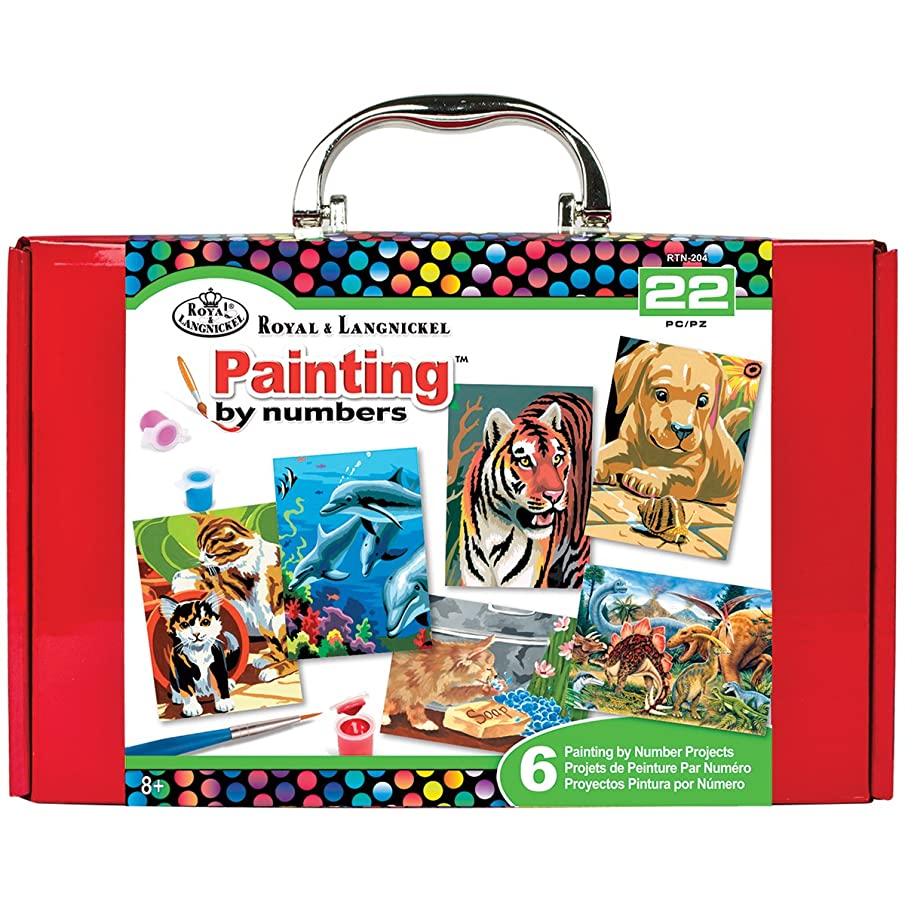 ROYAL BRUSH Painting by Numbers Kit