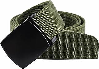 أحزمة للرجال من squaregarden حزام منسوج من النايلون بنمط عسكري للتكتيكي أحزمة للرجال