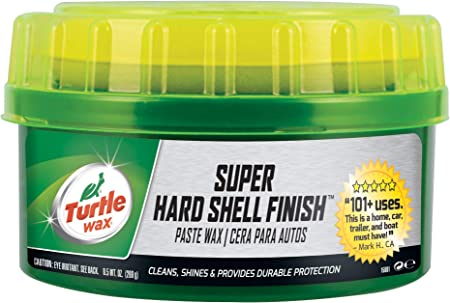 Turtle Wax T-223 Super Hard Shell Paste Wax - 9.5 oz (Pack of 1): image