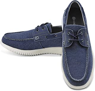 GM GOLAIMAN Men's Boat Shoes Slip on Walking Loafers