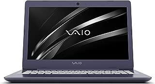 """Notebook Vaio C14, Intel Core I7, 8 GB RAM, HD 1TB, Tela LCD 14"""", Windows 10, VJC141F11X-B0311L - Azul e Prata"""