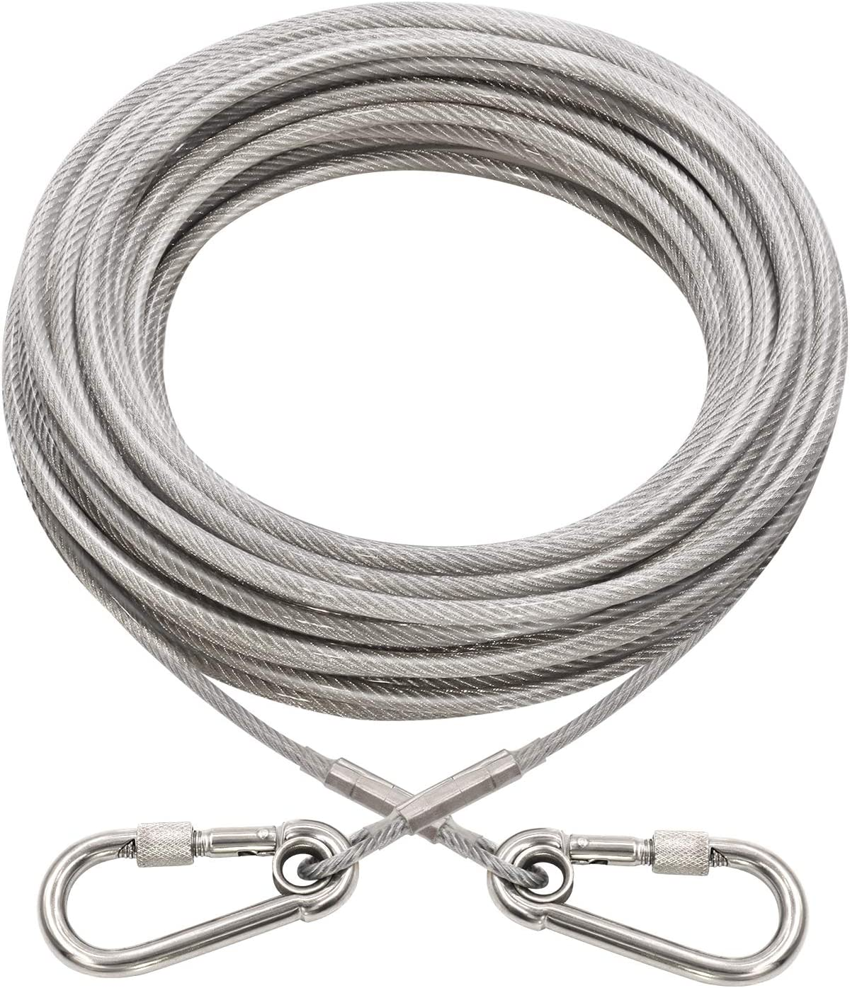 XiaZ Dog Runner Tie Safety and trust Attention brand Out Cable for Dogs 60 120 to 1 250 Up Pound