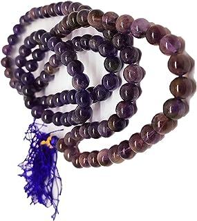 SCW الأحجار الكريمة قلادة للرجال النساء الروحي ريكي شفاء مالا مجوهرات الأزياء